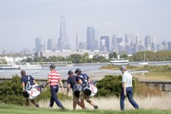 Presidents Cup at Liberty National Golf Club in New Jersey