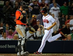 The Atlanta Braves play the Miami Marlins