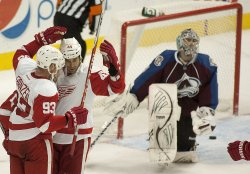 Detroit Red Wings vs Colorado Avalanche in Denver