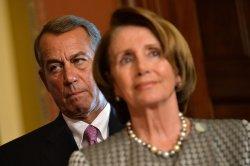 Pelosi and Boehner in Washington, D.C.