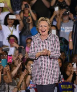 Hillary Clinton Speaks in Coral Springs Florida