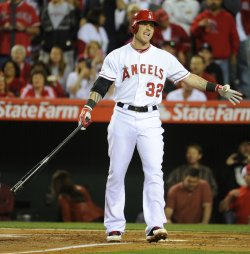 Los Angeles Angels vs Oakland Athletics in Anaheim, California