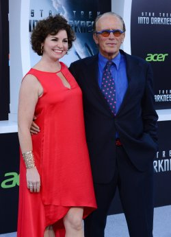 """Peter Weller and Shari Stowe attend the """"Star Trek into Darkness"""" premiere in Los Angeles"""