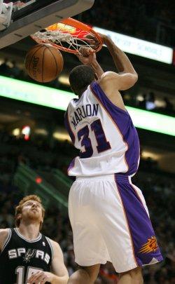 NBA San Antonio Spurs vs Phoenix Suns in Phoenix