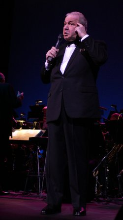 Frank Sinatra Jr performs in concert in Florida