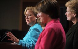 Sen. Landrieu speaks on the Senates passage of the Small Business Lending bill in Washington