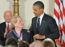 President Obama awards the Presidential Medal of Freedom in Washington