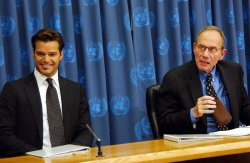 RICKY MARTIN PETITIONS UNITED NATIONS FOR AID ON BEHALF OF VULNERABLE CHILDREN