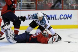 NHL Sn Jose Sharks at Washington Capitals