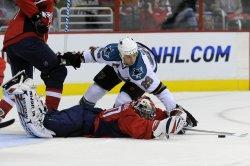 NHL Sn Jose Sharks at Washington Capitals