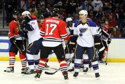 Chicago Black Hawks vs St.Louis Blues