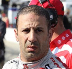 Tony Kanaan qualifies for the 98th running of the Indianapolis 500 at the Indianapolis Motor Speedway