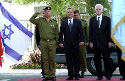 French Prime Minister Lionel Jospin with PM Barak in Jerusalem