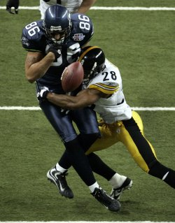SEATTLE SEAHAWKS VS. PITTSBURGH STEELERS IN SUPER BOWL XL