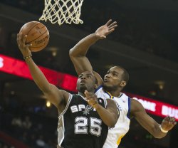 Golden State Warriors vs, San Antonio Spurs in Oakland, California