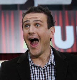 """Jason Segel attends """"The Muppets"""" premiere in Los Angeles"""