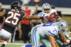 Dallas Cowboys vs Chicago Bears in Arlington, Texas