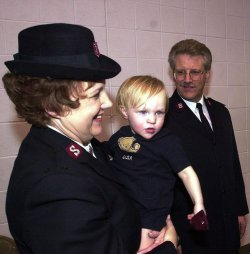 New Salvation Army commander