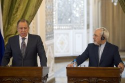 Iranian FM and his Russian Counterpart Hold Press Conference in Tehran