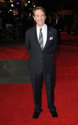 "Martin Short attends The Screening of ""Frankenweenie 3D"" in London"