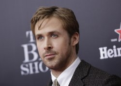 Ryan Gosling arrives at the Premiere of The Big Short