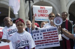 Low-Wage Workers Rally in Washington, D.C.