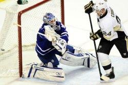 Pens Matt Cooke Scores in the Second Period in Pittsburgh