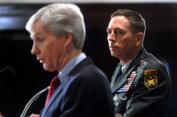 CROCKER AND PATRAEUS HOLD PRESS CONFERENCE IN WASHINGTON