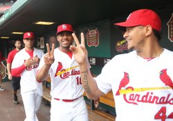 St. Louis Cardinals team photograph day