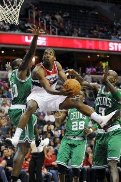 Jordan Crawford Fouled in Washington