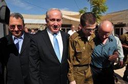 Israeli soldier Shalit returns home in Israel