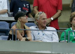Jack Nicholas attends the US Open Tennis Championship in New York