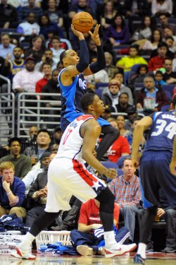 Washington Wizards vs Dallas Mavericks in Washington