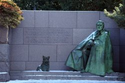 President Roosevelt Memorial in Washington