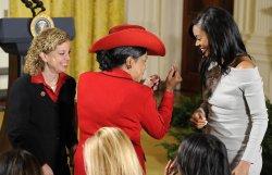 Pres. Obama welcomes NBA Champion Miami Heat to the White House