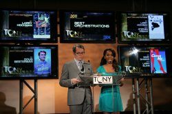 Matthew Broderick and Anika Noni Rose Announce the Tony Award Nominations in New York
