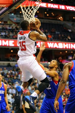 Washington Wizards vs Philadelphia 76ers in Washington
