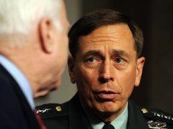 Army Gen. Petraeus testifies before Senate Armed Services Committee on Afghanistan in Washington