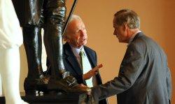 Sens. Lieberman, Carper talk on Capitol Hill