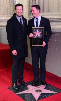 Jimmy Kimmel receives a star on the Hollywood Walk of Fame in Los Angeles