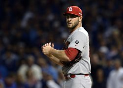 Cardinals' pitcher Kevin Siegrist in the NLDS in Chicago