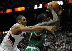The Atlanta Hawks play the Boston Celtics in Eastern Conference Playoffs game 5 in Atlanta