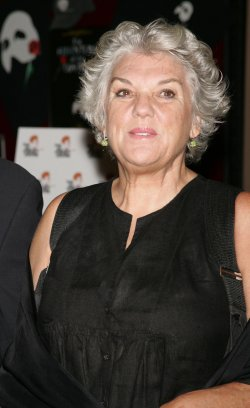 Tyne Daly arrives for Bea Arthur Memorial Service in New York