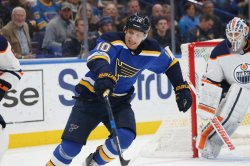 St. Louis Blues Brayden Schenn