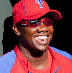 Philadelphia Phillies Ryan Howard works out at Citizens Bank Park