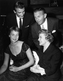 George Burns and wife Gracie Allen with son Ronnie and daughter Sandra