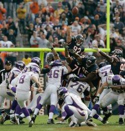 NFL Football Chicago Bears vs Minnesota Vikings