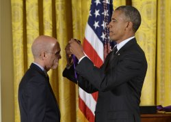 President Obama Awards the National Medal of Arts and Humanities in Washington, D.C.
