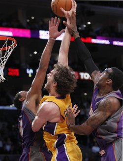 Los Angeles Lakers vs Phoenix Suns Game 5 NBA Western Conference Finals in Los Angeles