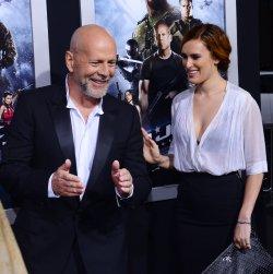 "Bruce Willis and Rumer Willis attend the ""G.I Joe: Retaliation"" premiere in Los Angeles"